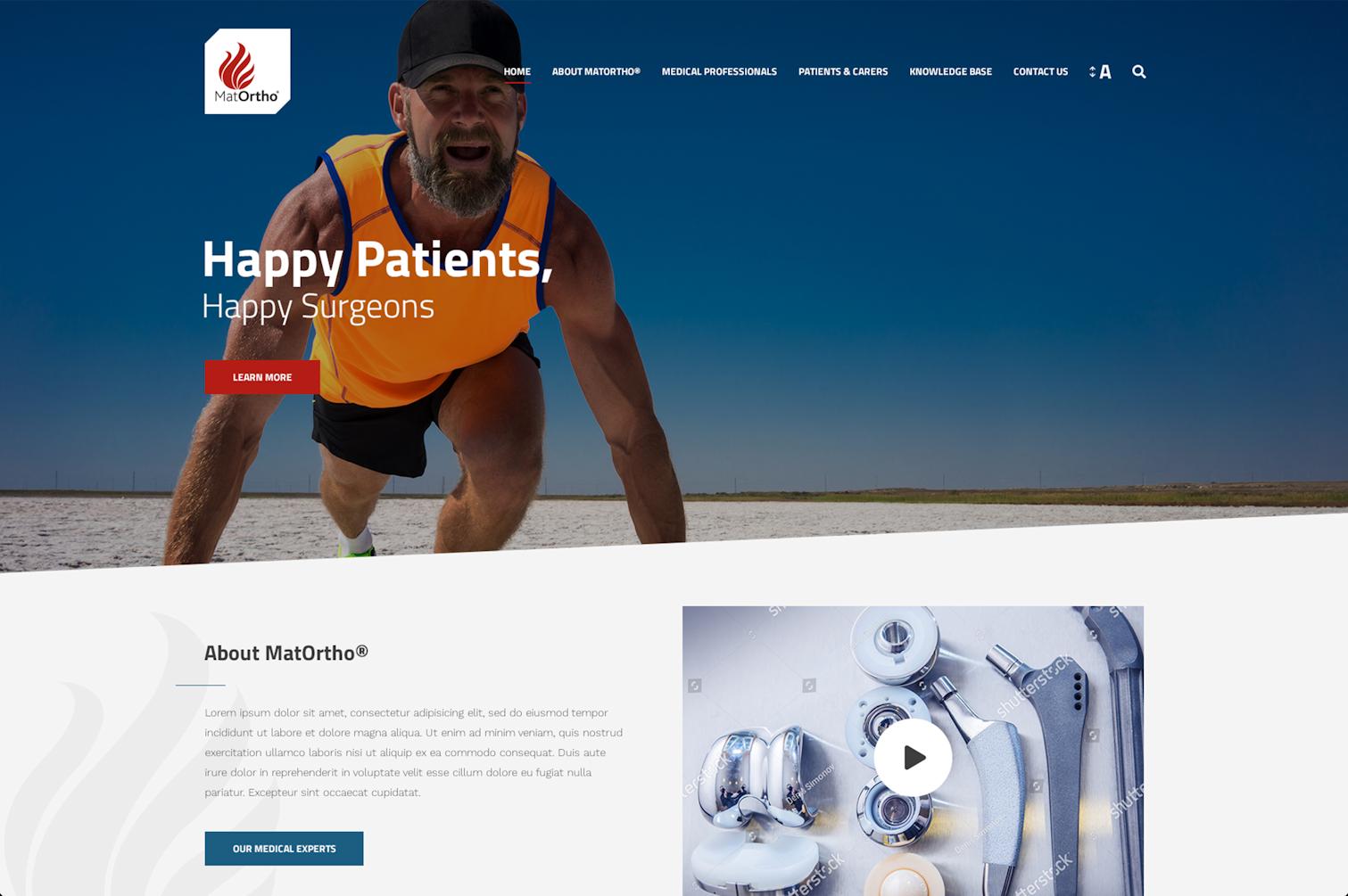 Professional Website Design Surrey