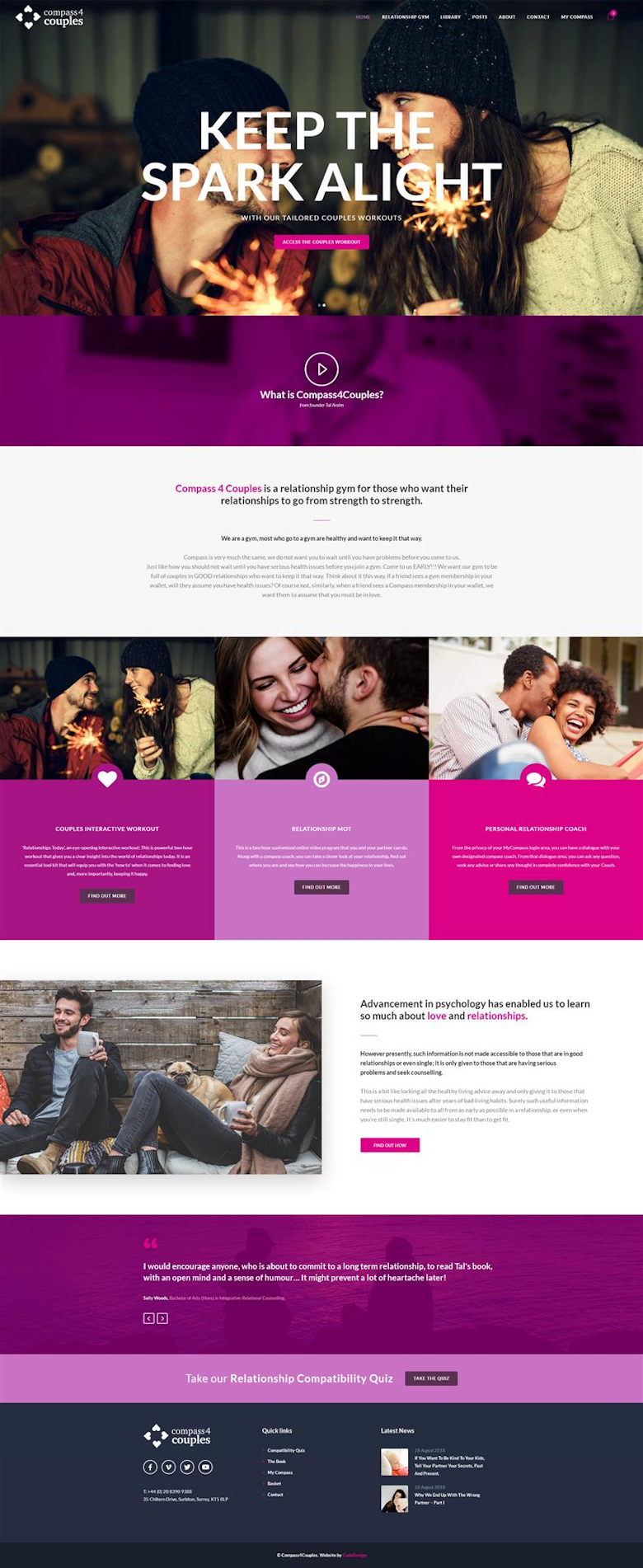 Customised Subscription Website Built Using WordPress