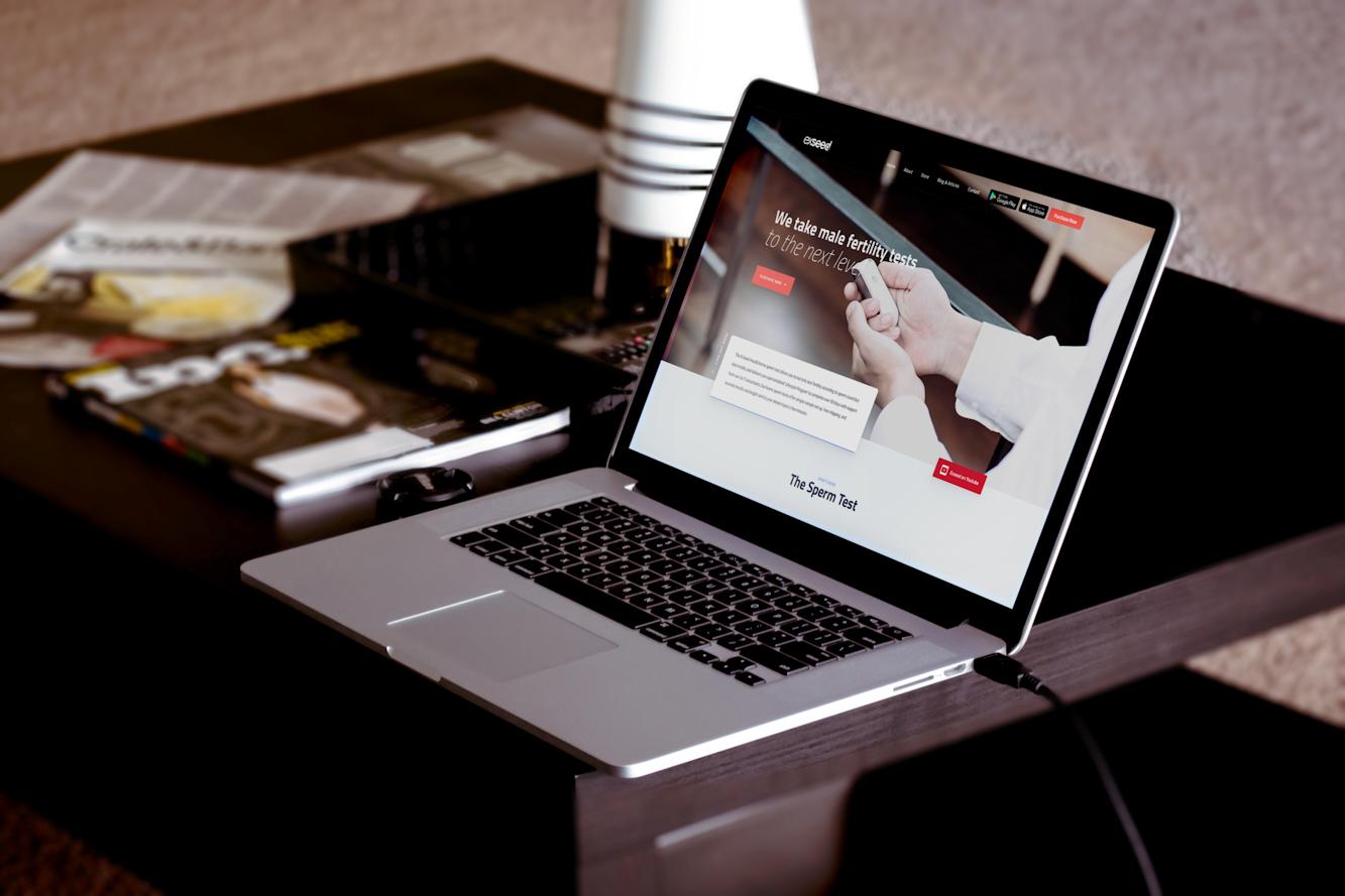 Exseed Health Website Design
