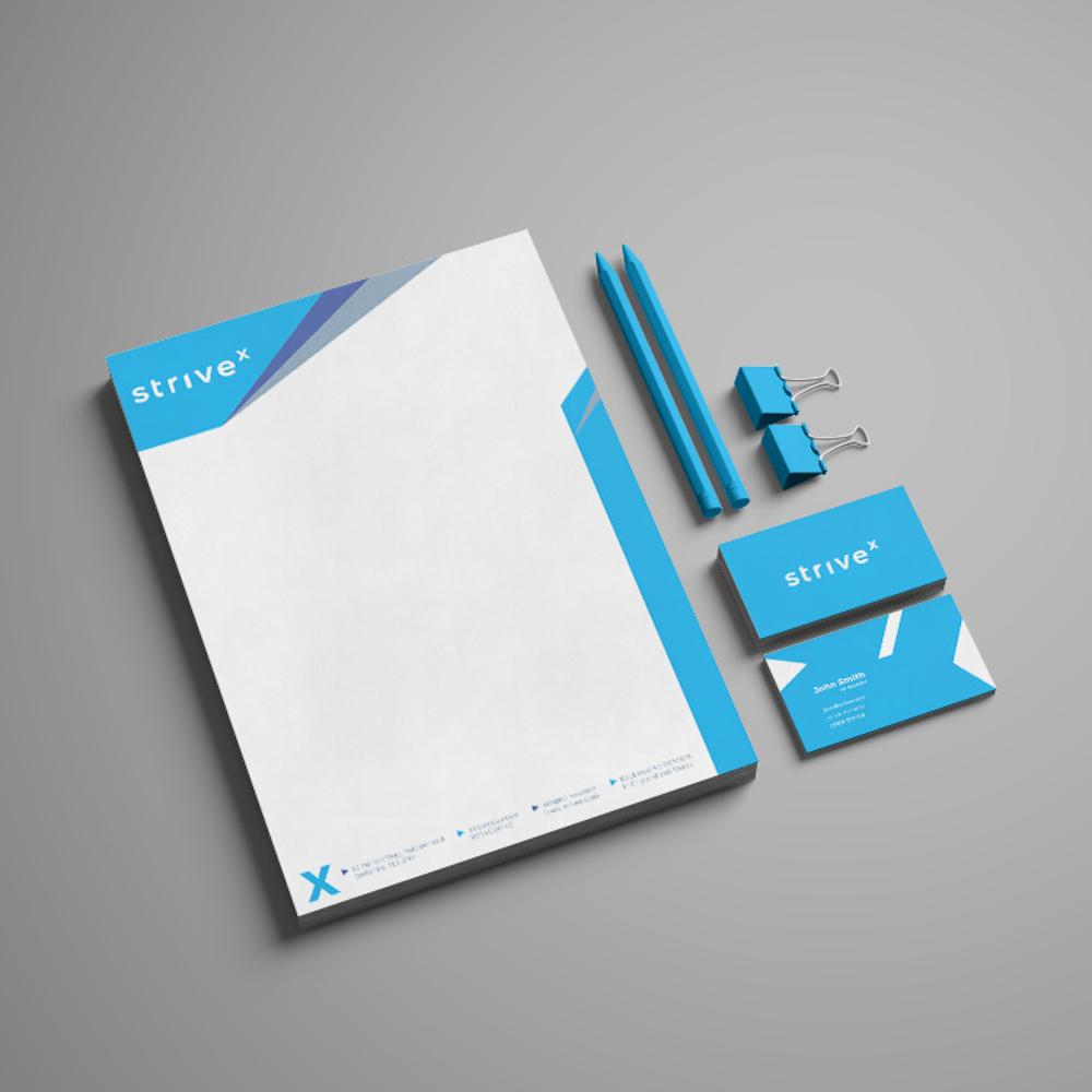 Strivex Accounting - Stationairy Branding