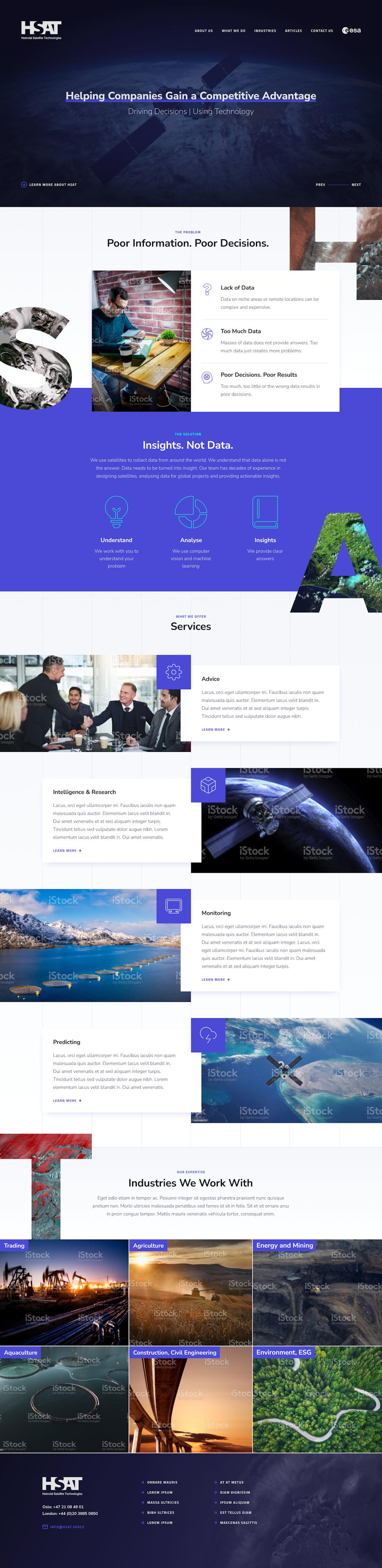 HSAT - Website Design by Cude Design