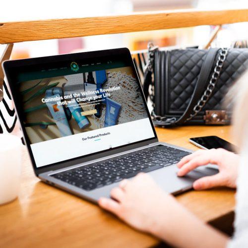 hemperor world - cbd website by cude design